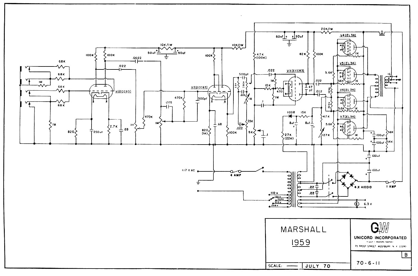 marshall amp layout, marshall 1959 layout, marshall 1959 back, marshall s manual, marshall 2210 footswitch, marshall 2061x, marshall 1959slp, marshall 1987 circuit, on marshall 1959 schematic