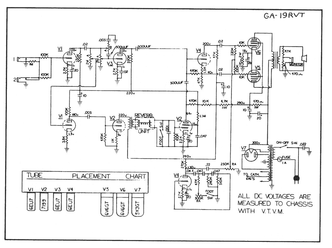 Vintage Supro Amplifier Schematics Guide And Troubleshooting Of Magnatone Schematic Rh Acruhl Freeshell Org Thunderbolt