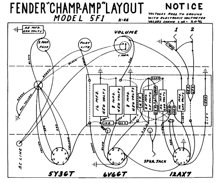 Schematics tweed champ layout notes cheapraybanclubmaster Gallery
