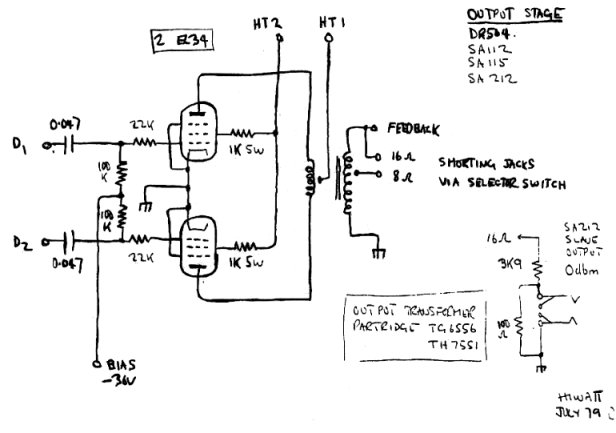 Schematicsrhacruhlfreeshellorg: 50 Watt Marshall Schematic At Gmaili.net