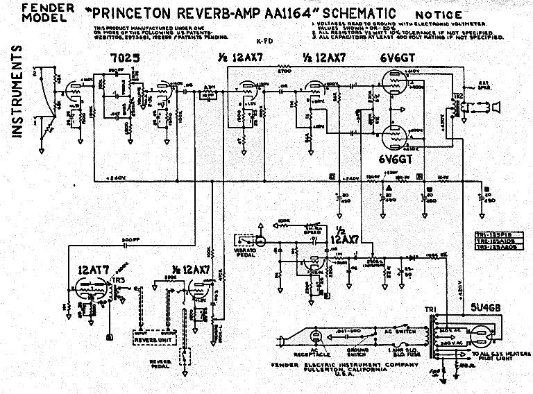 Schematics Fender Super Schematic on