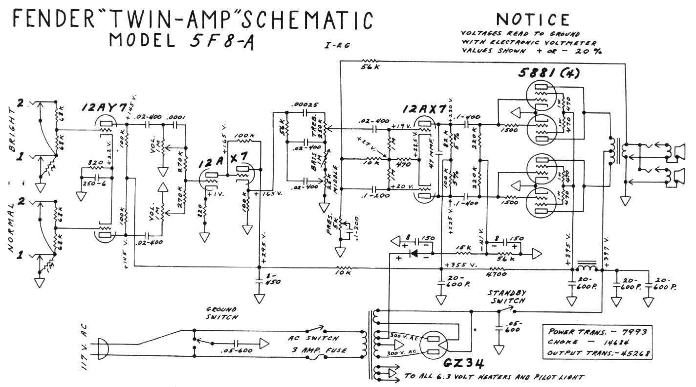 deluxe reverb ab763 schematic